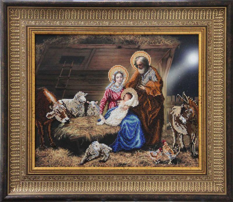 Вышивка крестом рождество христово 40